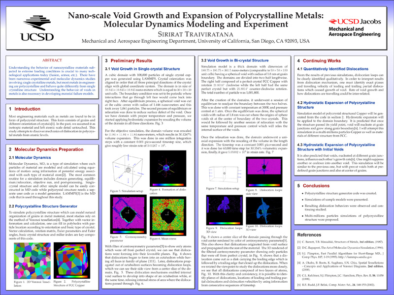 Research Posters - Marc A. Meyers - Ucsd